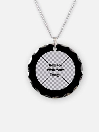 Customizable Black Necklace