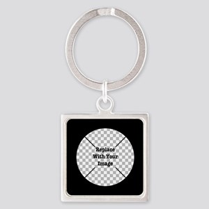 Customizable Black Keychains