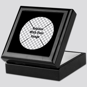 Customizable Black Keepsake Box
