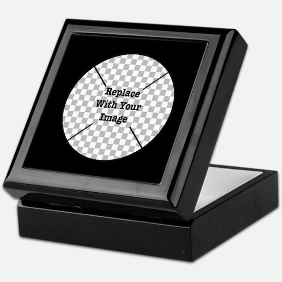 Customizable Black Keepsake Box