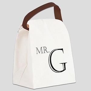 Mr. G Canvas Lunch Bag