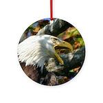 Screaming Eagle Ornament (Round)