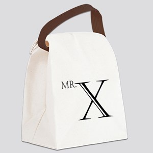Mr. X Canvas Lunch Bag