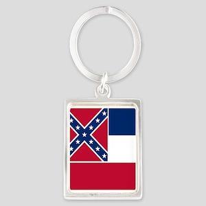 Flag of Mississippi Keychains