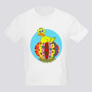 Colored Cartoon Easter Bunny T-Shirt