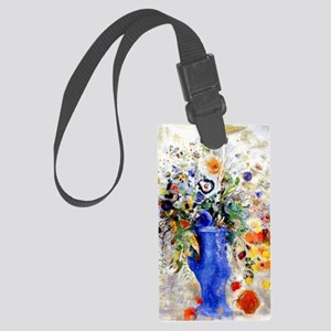 Odilon Redon - Large Bouquet Large Luggage Tag