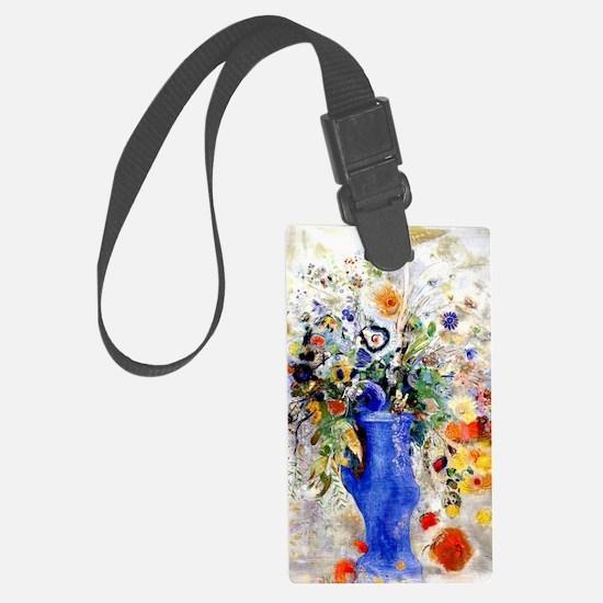 Odilon Redon - Large Bouquet Luggage Tag