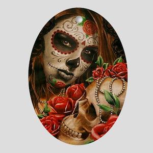 Pearl Oval Ornament