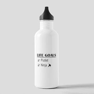 Flutist Ninja Life Goa Stainless Water Bottle 1.0L
