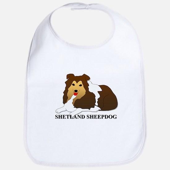 Shetland Sheepdog Bib
