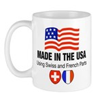 Swiss and French Mug