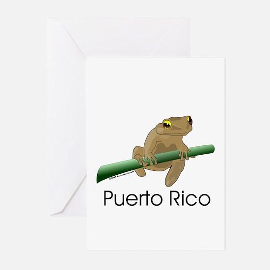 Coqui Boricua Greeting Cards (Pk of 10)