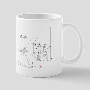 Pioneer Plaque Pluto Fix V4 Mug