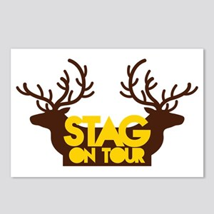 STAG on TOUR Postcards (Package of 8)