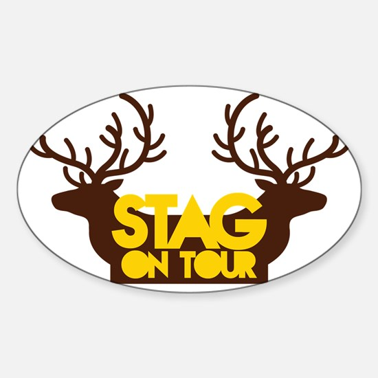 STAG on TOUR Sticker (Oval)