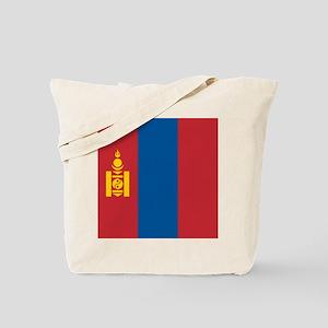 Flag of Mongolia Tote Bag