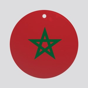Flag of Morocco Ornament (Round)