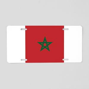 Flag of Morocco Aluminum License Plate