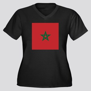 Flag of Morocco Plus Size T-Shirt