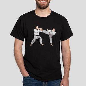 Teakwondo No Text Dark T-Shirt