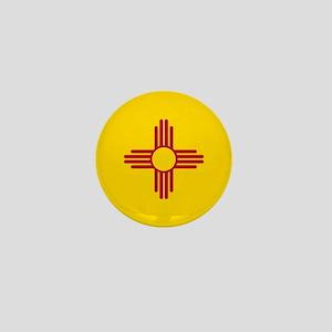 Flag of New Mexico Mini Button