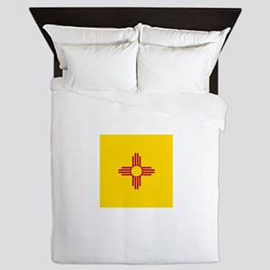 Flag of New Mexico Queen Duvet