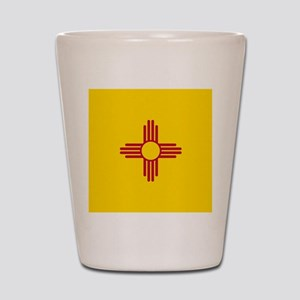Flag of New Mexico Shot Glass
