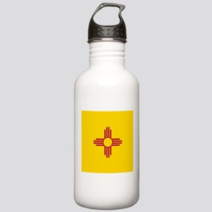 Flag of New Mexico Sports Water Bottle