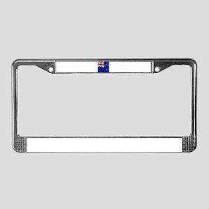 Flag of New Zealand License Plate Frame