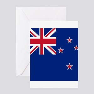 Flag of New Zealand Greeting Cards