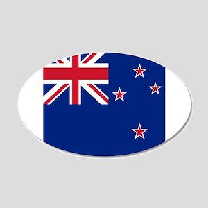 Flag of New Zealand Wall Sticker