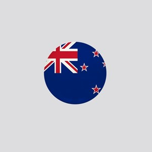 Flag of New Zealand Mini Button