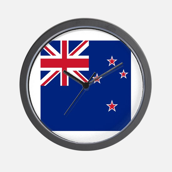 Flag of New Zealand Wall Clock