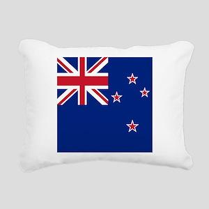 Flag of New Zealand Rectangular Canvas Pillow