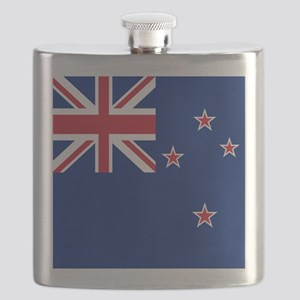 Flag of New Zealand Flask