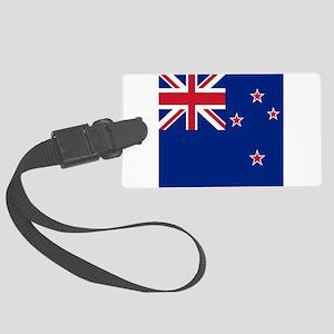 Flag of New Zealand Large Luggage Tag