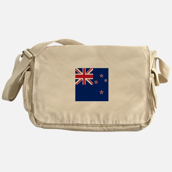 Flag of New Zealand Messenger Bag