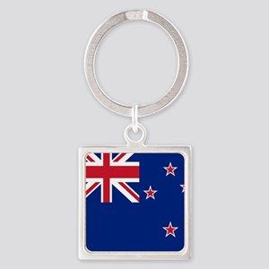 Flag of New Zealand Keychains