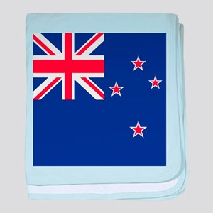 Flag of New Zealand baby blanket