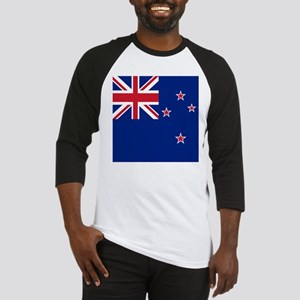 Flag of New Zealand Baseball Jersey