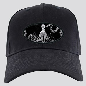 Vintage Octopus Dark Baseball Hat