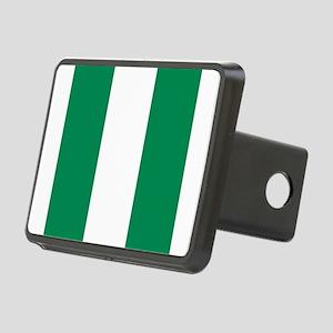 Flag of Nigeria Rectangular Hitch Cover