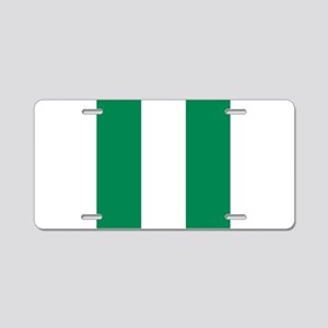 Flag of Nigeria Aluminum License Plate
