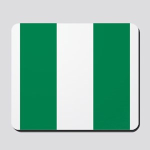 Flag of Nigeria Mousepad