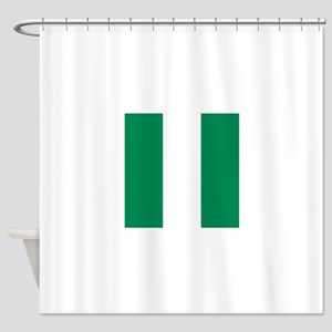 Flag of Nigeria Shower Curtain
