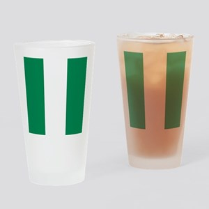 Flag of Nigeria Drinking Glass