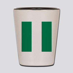 Flag of Nigeria Shot Glass