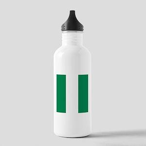Flag of Nigeria Sports Water Bottle