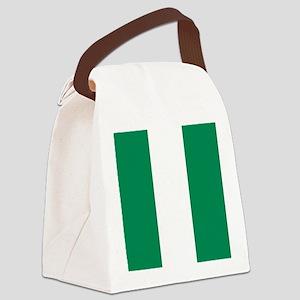 Flag of Nigeria Canvas Lunch Bag