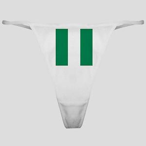 Flag of Nigeria Classic Thong